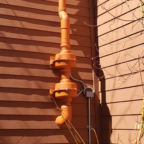 radon mitigation completed at sky forest acres apartments in south lake tahoe california